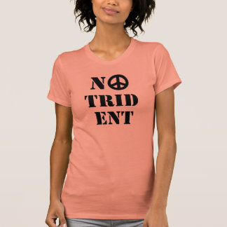 Scottish Indy Anti Trident Nuclear Weapons T-Shirt