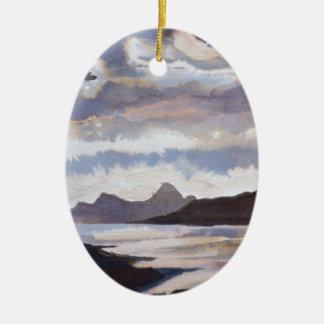 Scottish Isles Ceramic Oval Decoration