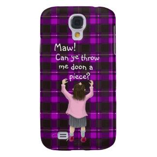 Scottish 'jeely piece' kid galaxy s4 case