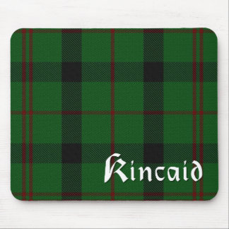Scottish Kincaid Clan Tartan Plaid Mouse Pad