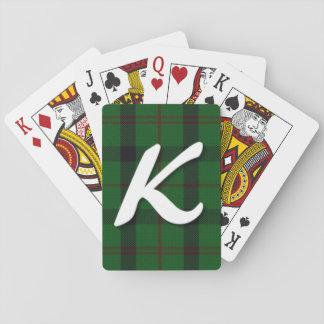 Scottish Kincaid Clan Tartan Plaid Playing Cards