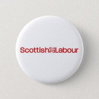 Scottish Labour 6 Cm Round Badge