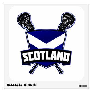 Scottish Lacrosse Logo