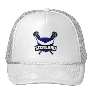 Scottish Lacrosse Logo Cap