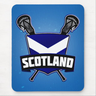 Scottish Lacrosse Logo Mouse Mat