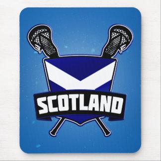 Scottish Lacrosse Logo Mouse Pad