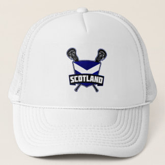 Scottish Lacrosse Logo Trucker Hat