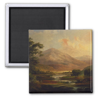 Scottish Landscape by Duncanson Refrigerator Magnet