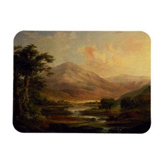 Scottish Landscape by Duncanson Flexible Magnets