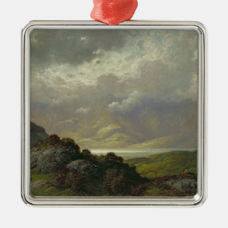 Scottish Landscape Christmas Ornament
