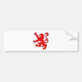 Scottish Lion Bumper Sticker