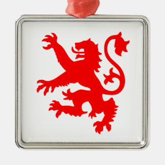 Scottish Lion Christmas Ornament