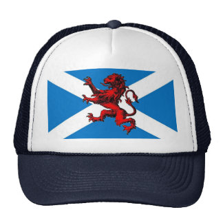 scottish lion mesh hats