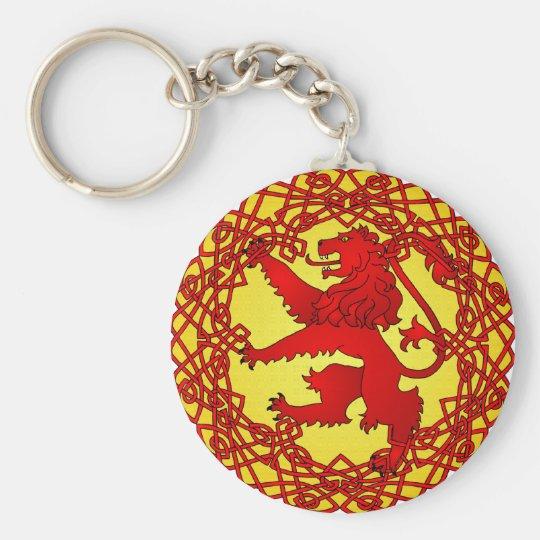 Scottish Lion Key Ring