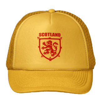 Scottish Lion Rampant Coat of Arms Hat
