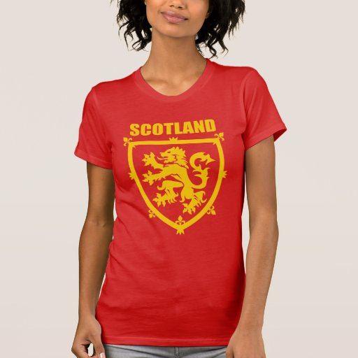 Scottish Lion Rampant Coat of Arms Tshirt