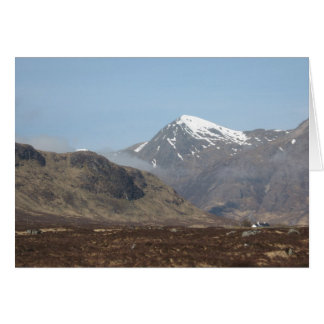 Scottish Lochs, Rivers & Mountains Greeting Card