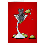 Scottish Martini Card