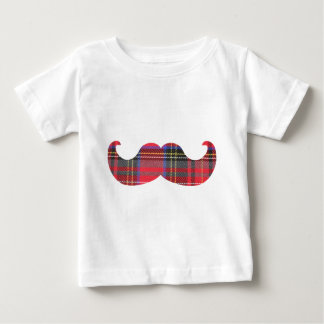 Scottish Mustache (or scottache moustache) Baby T-Shirt