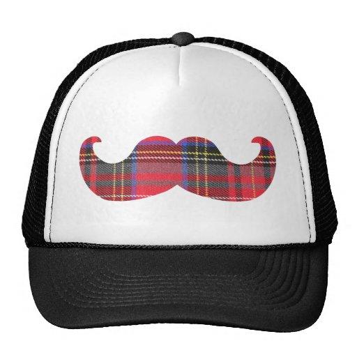 Scottish Mustache (or scottache moustache) Hat