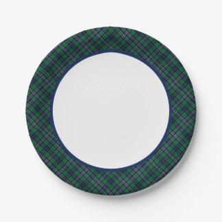 Scottish National Tartan Paper Plates