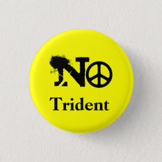 Scottish No Trident Button Badge