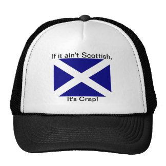 Scottish or Crap ballcap Cap
