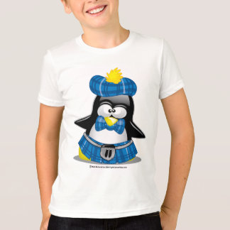 Scottish Penguin Blue T-Shirt