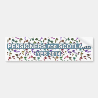 Scottish Pensioners for Independence Sticker