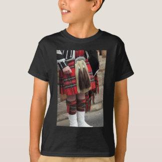 Scottish piper close up, traditional Scottish gift T-Shirt
