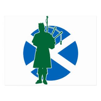 Scottish Piper Post Cards