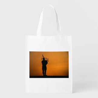 Scottish Piper Reusable Grocery Bag