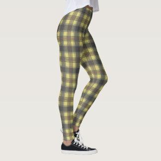 Scottish plaids leggings