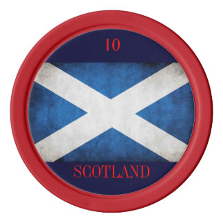 Scottish poker chip