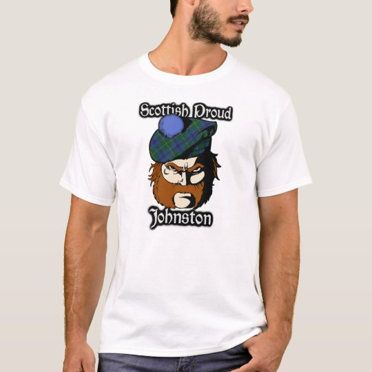Scottish Proud Clan Johnstone Johnston Tartan T-Shirt
