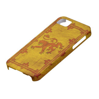 Scottish Rampant Lion iPhone 5 Case
