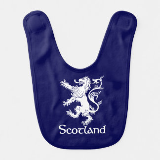Scottish Rampant Lion Navy Blue Bib
