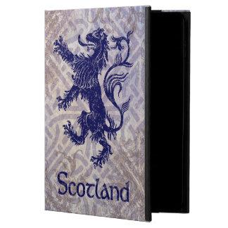 Scottish Rampant Lion Navy Blue Celtic Knot