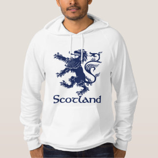 Scottish Rampant Lion Navy Blue Hoodie