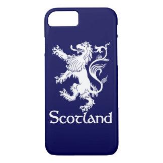 Scottish Rampant Lion Navy Blue iPhone 8/7 Case