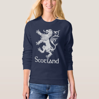 Scottish Rampant Lion Navy Blue Sweatshirt