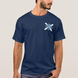 Scottish Rampant Lion Saltire Flag T-Shirt