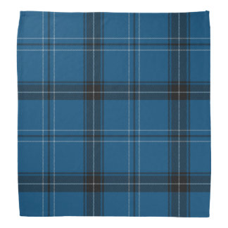 Scottish Ramsay Blue Tartan Bandana