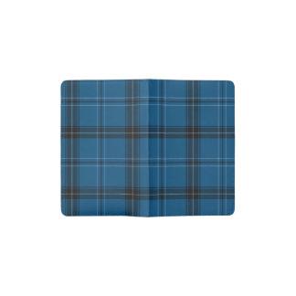 Scottish Ramsay Blue Tartan Pocket Moleskine Notebook