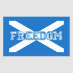 Scottish Referendum Scotland Independant Freedom Rectangular Stickers