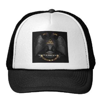 Scottish Rite 32 Degree Mason Eagle Cap