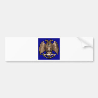 Scottish Rite 32 Degree Royal Blue Bumper Stickers