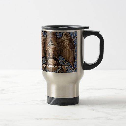 Scottish Rite Square & Compass Coffee Mug