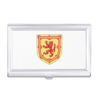 Scottish Royal Arms Business Card Holder