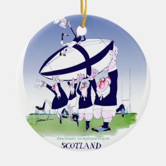 scottish rugby cheers, tony fernandes christmas ornament